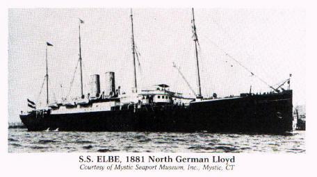 S.S. Elbe Ship