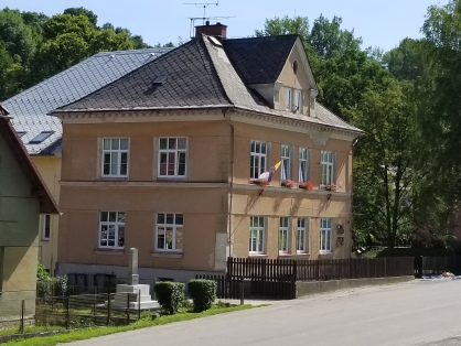 Mayor's house, with Kindergarten on the first floor