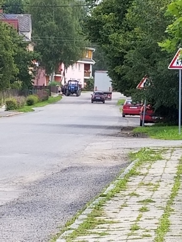 Rolling into Koclířov