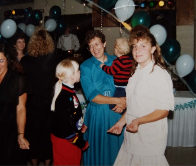 Wedding dancing 1988