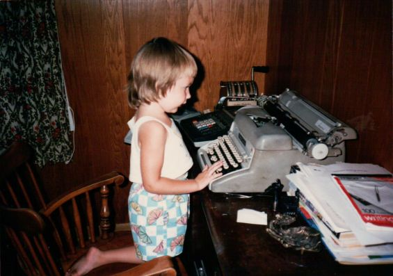 Abby typewriter