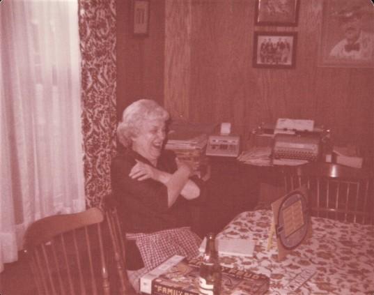 grandma typewriter