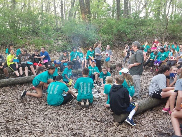 sixth grade camp smores'