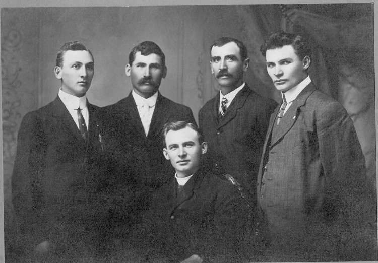 Bier, Edward, John, Louis, Frank & Charles
